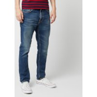 Nudie Jeans Men's Lean Dean Straight Jeans - Indigo Shades - W36/L34 - Blue