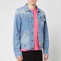 Nudie Jeans Men's Tommy Denim Jacket - Broken Twill - S - Blue