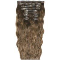 Beauty Works 22 Inch Beach Wave Double Hair Extension Set (Various Shades) - Mocha Melt