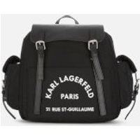 Karl Lagerfeld Women's Rue St. Guillaume Backpack - Black