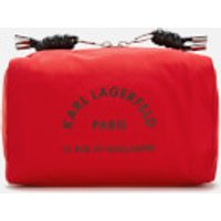 Karl Lagerfeld Rue St. Guillaume Wash Bag - Red
