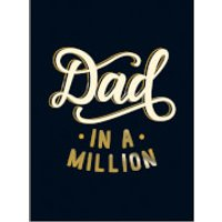 Dad in a Million (Hardback) - Books Gifts