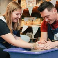 Introduction to Pottery for Two at Eastnor Pottery - Pottery Gifts