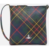 Vivienne Westwood Women's Derby Square Cross Body Bag - Hunting Tartan