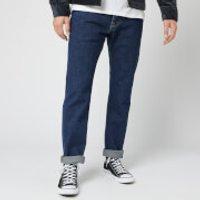 Edwin Men's Ed-55 Yoshiko Left Hand Denim Regular Tapered Jeans - Blue Akira Wash - W32/L32