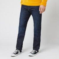 Edwin Men's ED-80 Slim Tapered Yuuki Blue Denim Jeans - Taiki Wash - W34/L34