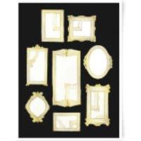 Frames Art Print - A3 - No Hanger