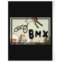 BMX Jump Art Print - A3 - Bmx Gifts