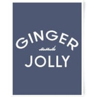 Ginger And Jolly Art Print - A3 - Ginger Gifts