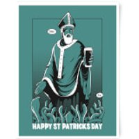 St. Patricks Day Art Print - A3 - St Patricks Day Gifts
