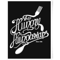 The Hungry Hungarians Art Print - A3