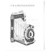 Photography Vintage Scribble Art Print - A3 - Photography Gifts