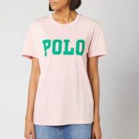 Polo Ralph Lauren Women's Big Polo Short Sleeve T-Shirt - Pink Sand - XS - Pink