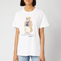 Polo Ralph Lauren Women's Bear Short Sleeve T-Shirt - White - XS - White