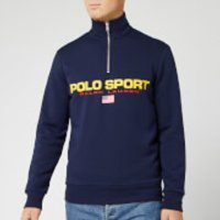 Polo Sport Ralph Lauren Men's Long Sleeve Quarter Zip - Cruise Navy - L