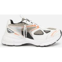 Axel Arigato Women's Marathon Running Style Trainers - White/Black/Orange - UK 5 - White