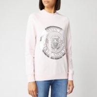 Balmain Women's Coin Sweatshirt - Rose - S