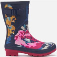 Joules Women's Molly Mid Height Printed Wellies - Anniversary Floral - UK 7