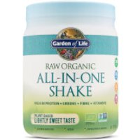 Raw Organic All-In-One Shake - Lightly Sweet - 519g