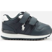 Polo Ralph Lauren Polo Ralph Lauren Toddler's Oryion Ez Velcro Trainers - Navy/White - UK 3.5 Toddler/EU 19 - Blue