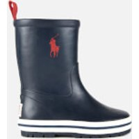 Polo Ralph Lauren Polo Ralph Lauren Toddler's Kelso Polo Player Wellington Boots - Navy/Red - UK 4 Toddler/EU 20 - Blue