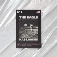 NASA Apollo 11 The Eagle Has Landed Metal Print - Geek Gifts