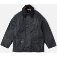 Barbour Boy's Bedale Wax Jacket - Navy - M (8-9 Years)