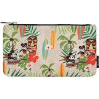 Loungefly Disney Mickey & Minnie Hawaiian Pouch - Hawaiian Gifts