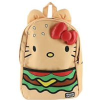 Loungefly Sanrio Hello Kitty Burger Nylon Backpack