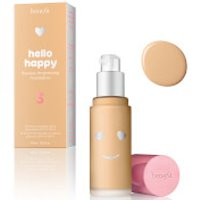 benefit Hello Happy Flawless Liquid Foundation (Various Shades) - Shade 03