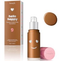 benefit Hello Happy Flawless Liquid Foundation (Various Shades) - Shade 09