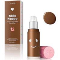 Benefit Hello Happy Flawless Liquid Foundation (various Shades) - Shade 12
