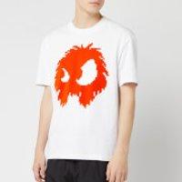 McQ Alexander McQueen Men's Dropped Shoulder Monster T-Shirt - Optic White - XS - White
