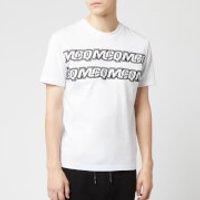 McQ Alexander McQueen Men's Hyper McQ Repeat T-Shirt - Optic White - XS - White
