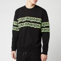 McQ Alexander McQueen Men's McQ Repeat Sweatshirt - Darkest Black - M - Black