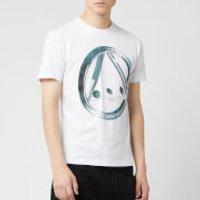 McQ Alexander McQueen Men's Icon 3D T-Shirt - Optic White - L - White