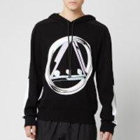 McQ Alexander McQueen Men's Icon Tech Hoodie - Darkest Black - XL - Black