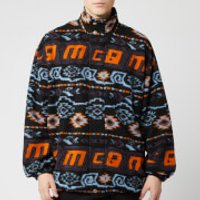 McQ Alexander McQueen Men's Funnel Neck Rewind Repeat Sweatshirt - Multi - XL - Multi