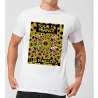 Mark Fairhurst TDF Les Maillots Men's T-Shirt - White - L - White