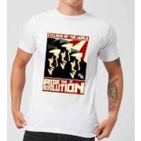 Mark Fairhurst Revolution Men's T-Shirt - White - XL - White