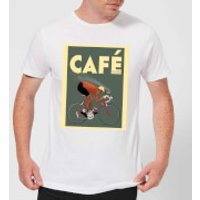 Mark Fairhurst Cafe Racer Men's T-Shirt - White - XL - White