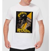 Mark Fairhurst Paris Roubaix Men's T-Shirt - White - XL - White