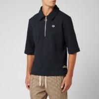 Champion X Clothsurgeon Men's Half Zip Polo Shirt - Black - S