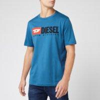 Diesel Men's Just Division T-Shirt - Blue - XL