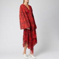 Solace London Women's Nelli Midaxi Dress - Red Snake Print - UK 10