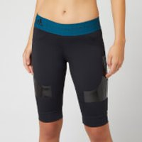 adidas by Stella McCartney Women's Hybrid Shorts - Black - S