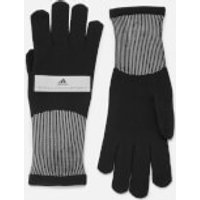 Adidas By Stella Mccartney Run Knitted Gloves - Black