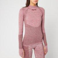 Reebok X Victoria Beckham Women's Seamless Tex Long Sleeve Top - Burgundy - M