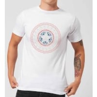 Marvel Captain America Oriental Shield Men's T-Shirt - White - XS - White