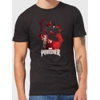 Marvel The Punisher Mens T-Shirt - Black - L - Black